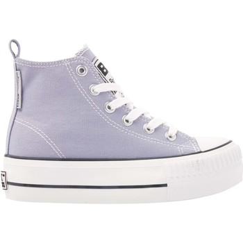 Chaussures Femme Baskets montantes British Knights KAYA MID FILLES BASKETS MONTANTE bleu