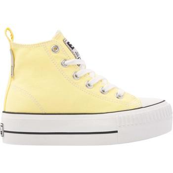 Chaussures Fille Baskets montantes British Knights KAYA MID FILLES BASKETS MONTANTE jaune