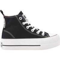 Chaussures Fille Baskets montantes British Knights KAYA MID FILLES BASKETS MONTANTE noir