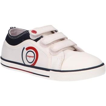 Chaussures Enfant Baskets basses Mayoral 43321 Blanco
