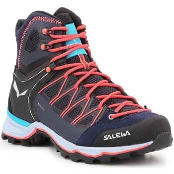 Chaussures Femme Randonnée Salewa Ws Mtn Trainer Lite Mid GTX 61360-3989 granatowy