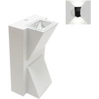 Maison & Déco Appliques Silumen Applique Murale LED 2x3W IP44 Blanc