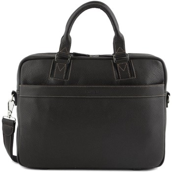Sacs Homme Porte-Documents / Serviettes Etrier Porte documents 2 compartiments + PC 15'' AMSTERDAM 104-00083608 MARRON FONCE
