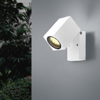 Maison & Déco Appliques Silumen Applique Murale LED IP44 Blanc