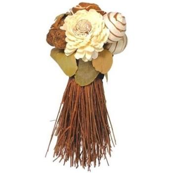 Maison & Déco Plantes artificielles Silumen Bouquet de fleurs séchées sur Multicouleur
