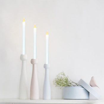 Maison & Déco Bougies, diffuseurs Silumen Bougie Chandelle LED Blanc 28cm Blanc