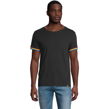 Vêtements Homme T-shirts manches courtes Sols CAMISETA MANGA CORTA RAINBOW Negro