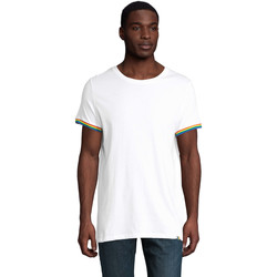 Vêtements Homme T-shirts manches courtes Sols CAMISETA MANGA CORTA RAINBOW Blanco