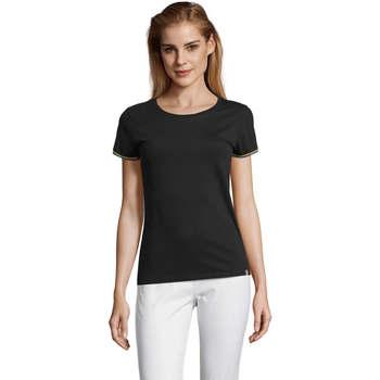 Vêtements Femme T-shirts manches courtes Sols CAMISETA MANGA CORTA RAINBOW Negro