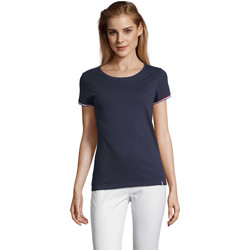 Vêtements Femme T-shirts manches courtes Sols CAMISETA MANGA CORTA RAINBOW Azul