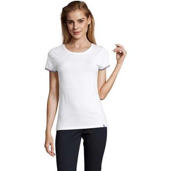 Vêtements Femme T-shirts manches courtes Sols CAMISETA MANGA CORTA RAINBOW Blanco