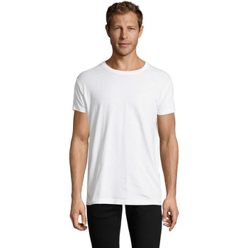 Vêtements Homme T-shirts manches courtes Sols REGENT FIT CAMISETA MANGA CORTA Blanco