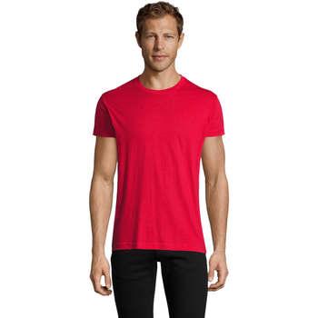 Vêtements Homme T-shirts manches courtes Sols REGENT FIT CAMISETA MANGA CORTA Rojo