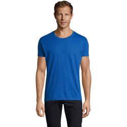 Vêtements Homme T-shirts manches courtes Sols REGENT FIT CAMISETA MANGA CORTA Azul