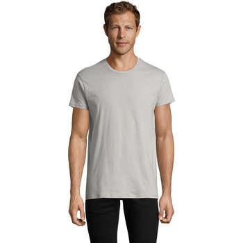 Vêtements Homme T-shirts manches courtes Sols REGENT FIT CAMISETA MANGA CORTA Gris