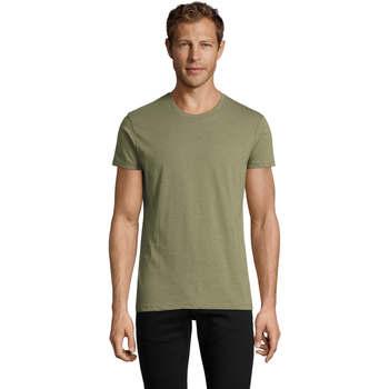 Vêtements Homme T-shirts manches courtes Sols REGENT FIT CAMISETA MANGA CORTA Kaki