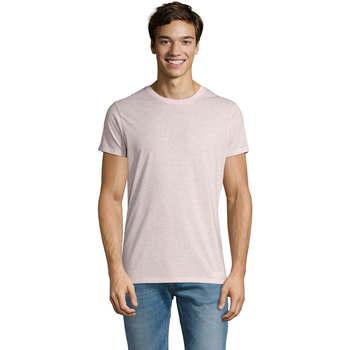 Vêtements Homme T-shirts manches courtes Sols REGENT FIT CAMISETA MANGA CORTA Rosa