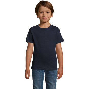 Vêtements Garçon T-shirts manches courtes Sols REGENT FIT CAMISETA MANGA CORTA Azul