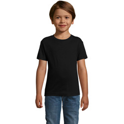Vêtements Garçon T-shirts manches courtes Sols REGENT FIT CAMISETA MANGA CORTA Negro