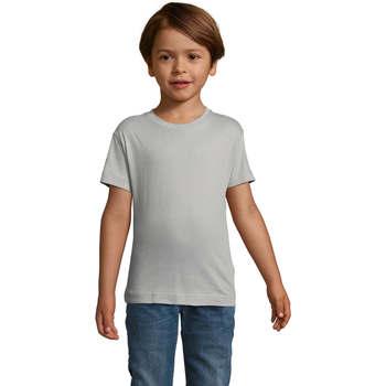 Vêtements Enfant T-shirts manches courtes Sols REGENT FIT CAMISETA MANGA CORTA Gris