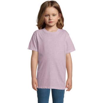 Vêtements Enfant T-shirts manches courtes Sols REGENT FIT CAMISETA MANGA CORTA Rosa