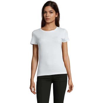 Vêtements Femme T-shirts manches courtes Sols REGENT FIT CAMISETA MANGA CORTA Blanco