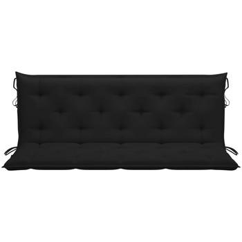 Maison & Déco Galettes de chaise Vidaxl 150 cm Noir