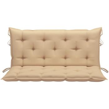 Parures de lit Galettes de chaise Vidaxl 120 cm Beige