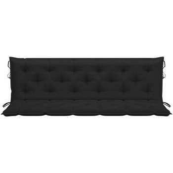 Maison & Déco Galettes de chaise Vidaxl 180 cm Noir