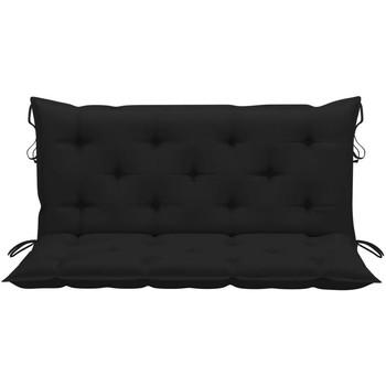 Maison & Déco Galettes de chaise Vidaxl 120 cm Noir