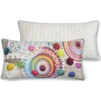 Maison & Déco Coussins Hip Coussin décoratif 30 x 60 cm Multicolore