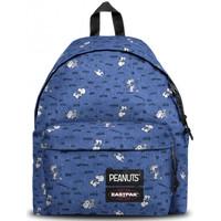 Sacs Enfant Sacs à dos Eastpak Sac à dos  EK620 K57 Bleu motif Peanuts B Multicolor