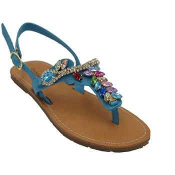 Chaussures Femme Tongs Angela Calzature AMARTINAbluette bluette