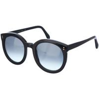 Montres & Bijoux Femme Lunettes de soleil Tyg Spectacles Lunettes de soleil Noir