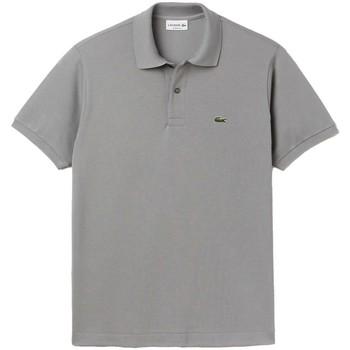 Vêtements Homme Polos manches courtes Lacoste Polo homme  ref 52087 KC8 gris Gris