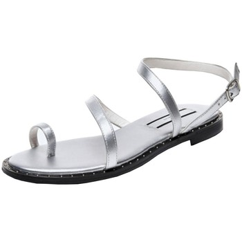 Chaussures Femme Sandales et Nu-pieds Pepe jeans Sandales plates  Hayes Bass Ref 53037 Silver Argenté