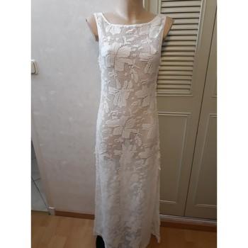 Vêtements Femme Robes longues Autre robe miss june taille 1 Blanc