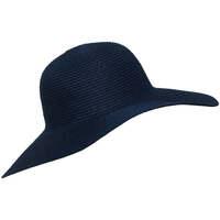 Accessoires textile Femme Chapeaux Chapeau-Tendance Chapeau capeline KIRUMA Bleu marine