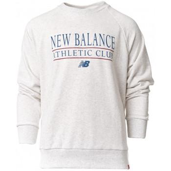 Vêtements Sweats New Balance NB Essentials Athletic Club Crew Sea Salt Heather