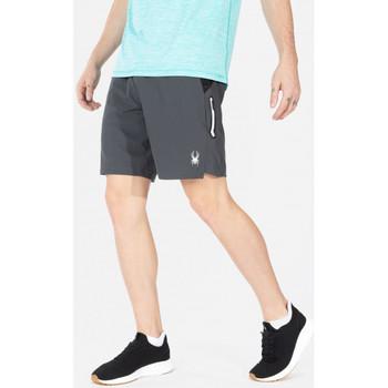 Vêtements Homme Shorts / Bermudas Spyder Short de sport  pour homme Anthracite