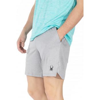 Vêtements Homme Shorts / Bermudas Spyder Short de sport avec legging pour homme Gris clair
