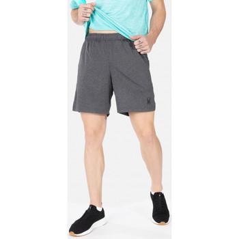 Vêtements Homme Shorts / Bermudas Spyder Short de sport avec legging pour homme Anthracite