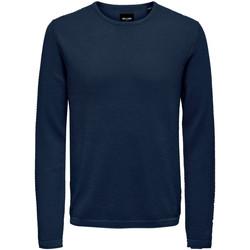 Vêtements Homme Pulls Only & Sons  22016980 bleu