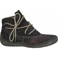 Chaussures Femme Boots Josef Seibel Bottines Bordeaux