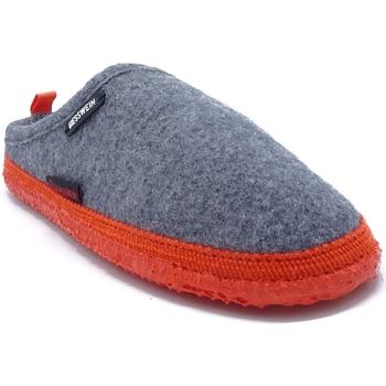 Chaussures Chaussons Giesswein WOOLPOPS GRIS