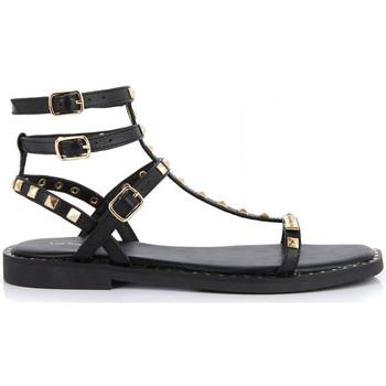 Chaussures Fille Sandales et Nu-pieds Les Tropéziennes par M Belarbi Coralie Noir