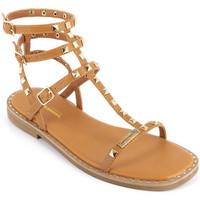 Chaussures Fille Sandales et Nu-pieds Les Tropéziennes par M Belarbi Coralie Marron