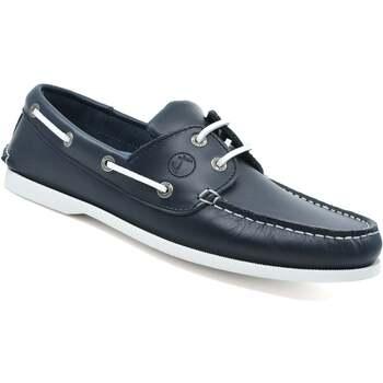 Chaussures Homme Chaussures bateau Seajure Chaussures Bateau Watamu Bleu marin