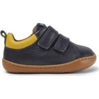 Chaussures Fille Baskets basses Camper Baskets cuir PEU CAMI bleumarin