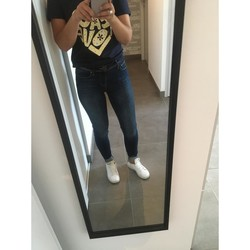 Vêtements Femme Jeans skinny Only Jean skinny shape up only Bleu